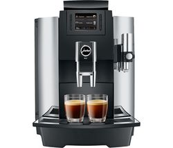 JURA Professional WE8 15317 Bean to Cup Coffee Machine - Chrome Best Price, Cheapest Prices