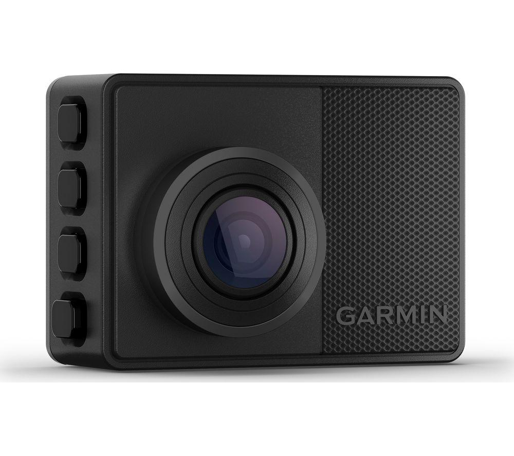 GARMIN 67W Quad HD Dash Cam - Black, Black