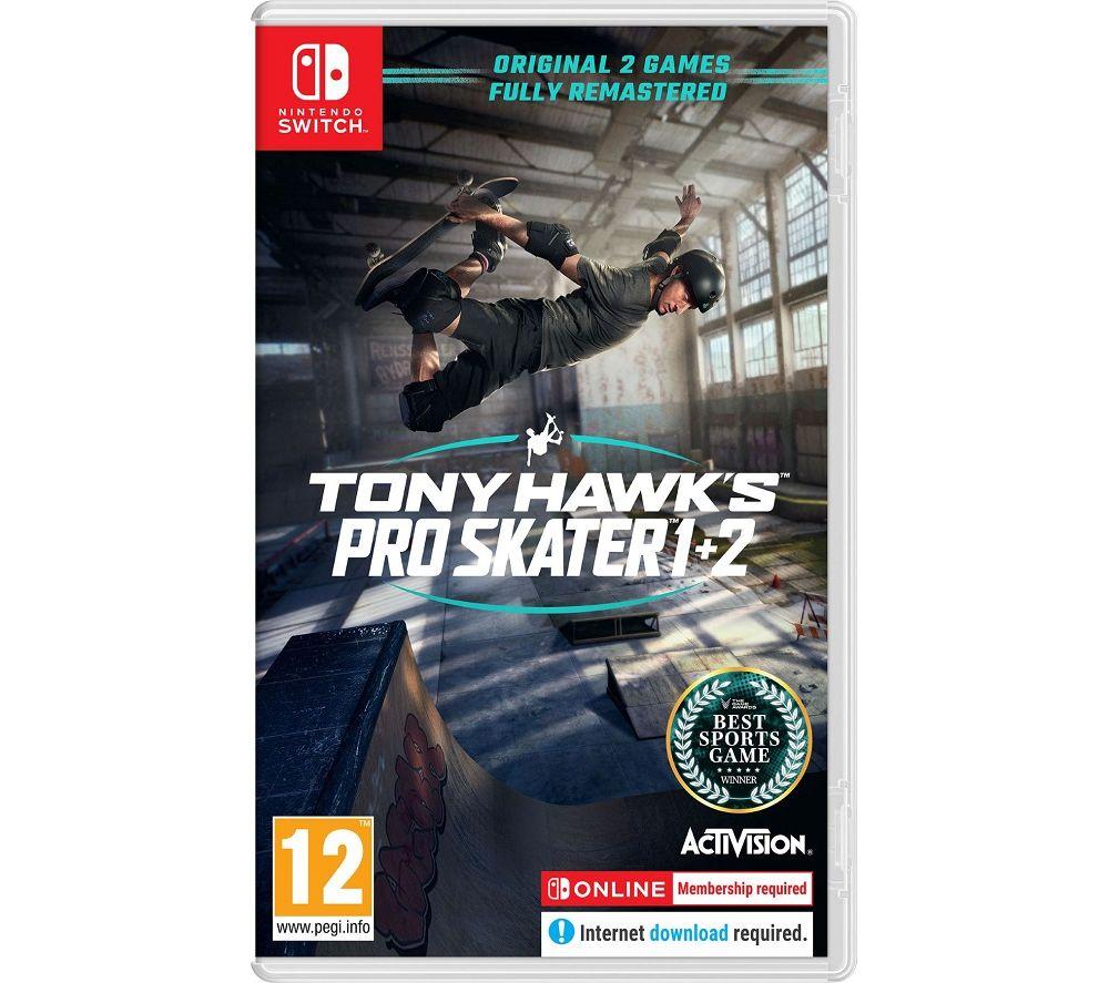 NINTENDO SWITCH Tony Hawk's Pro Skater 1 & 2