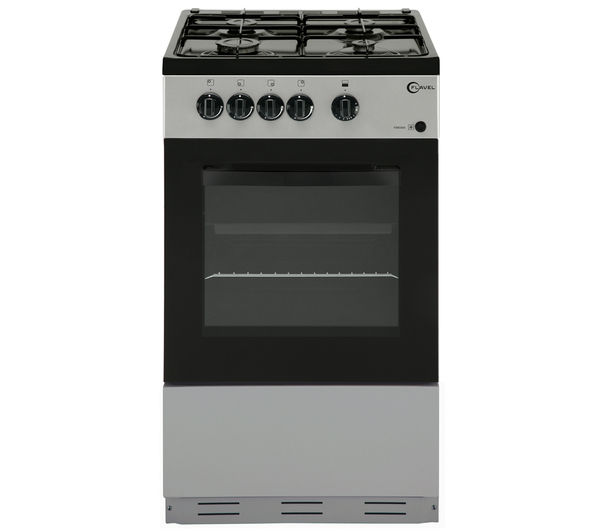 Image of FLAVEL FSBG51S Gas Cooker - Silver
