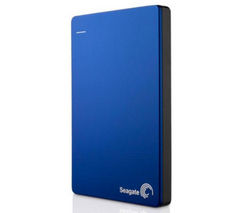 SEAGATE Backup Plus Slim Portable Hard Drive - 1 TB, Blue