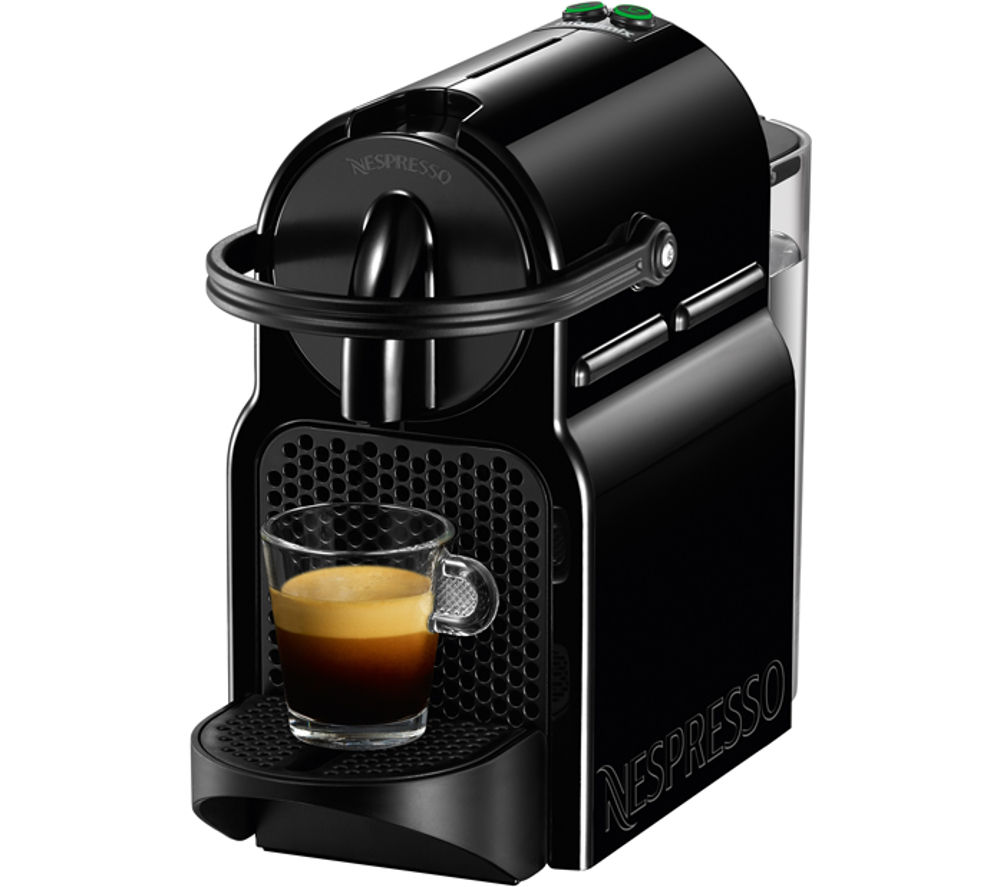 buy nespresso by magimix inissia 11350 coffee machine black free delivery currys. Black Bedroom Furniture Sets. Home Design Ideas