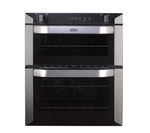 BELLING BI70F Electric Built-under Double Oven - Stainless Steel