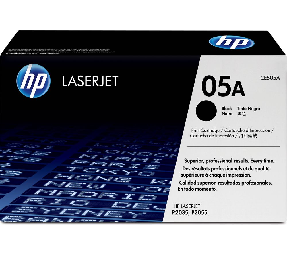 Compare retail prices of HP 05A Black Toner Cartridge to get the best deal online