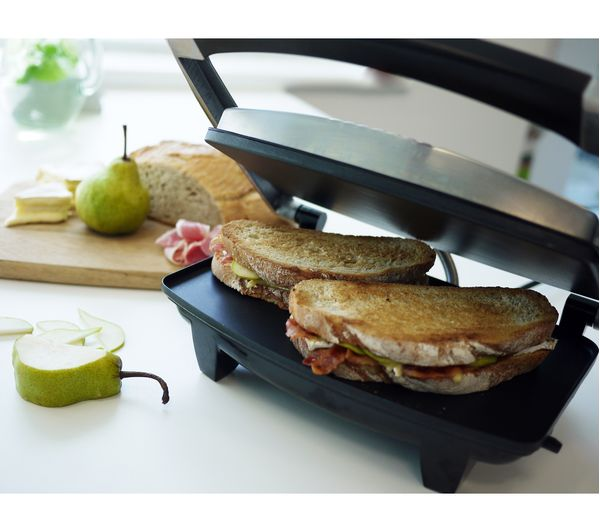 how to clean breville sandwich press