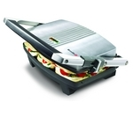 BREVILLE VST025 Cafe-Style Sandwich Press - Brushed Stainless Steel