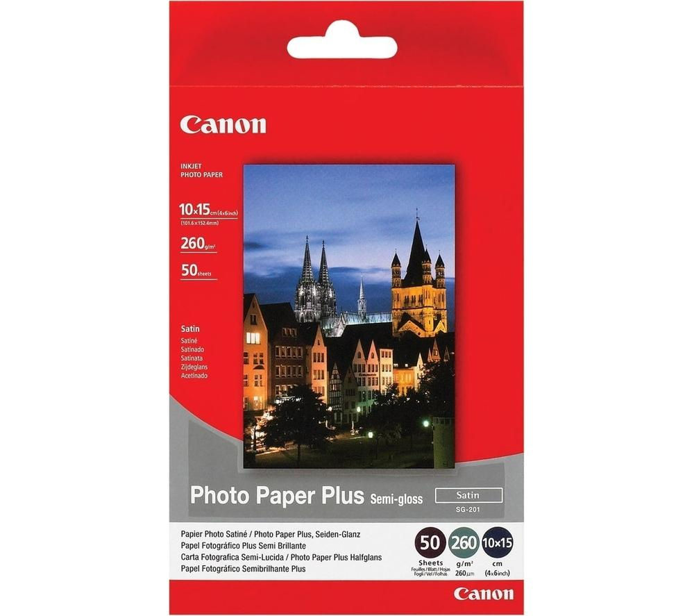 Image of CANON 100 x 150 mm Photo Paper - 50 Sheets