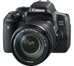 CANON EOS 750D DSLR Camera with 18-135 mm f/3.5-5.6 Lens - Black