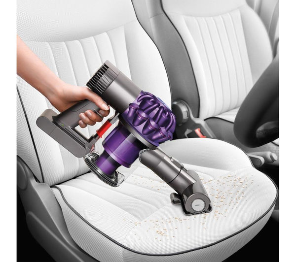 Image of: Stick Vacuum Dyson V6 Animal Cordless Vacuum Cleaner Purple Currys Pc World Dyson V6 Animal Cordless Vacuum Cleaner Purple Fast Delivery