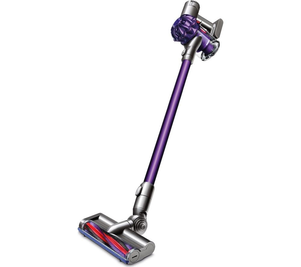 buy dyson v6 animal cordless vacuum cleaner purple free delivery currys. Black Bedroom Furniture Sets. Home Design Ideas