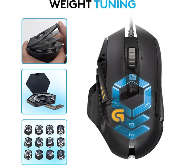 Buy Logitech G502 Proteus Spectrum Optical Gaming Mouse Free