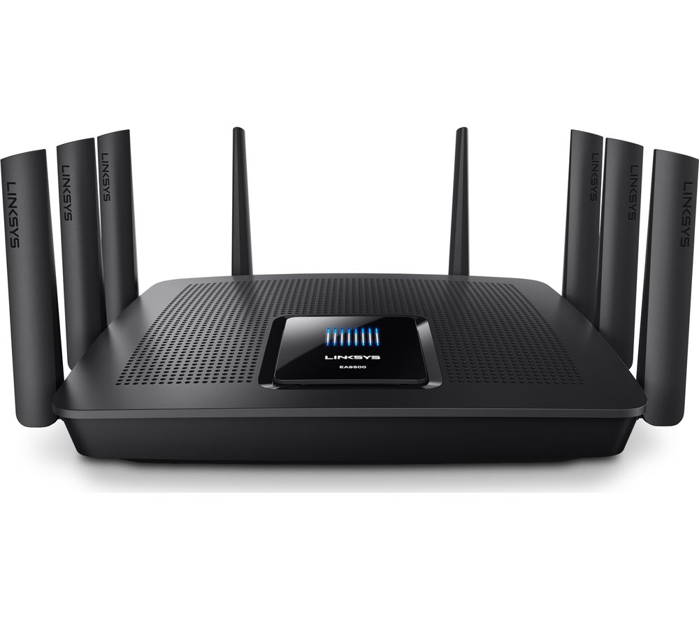 LINKSYS EA9500 Wireless Cable & Fibre Router - AC 5400, Tri-band