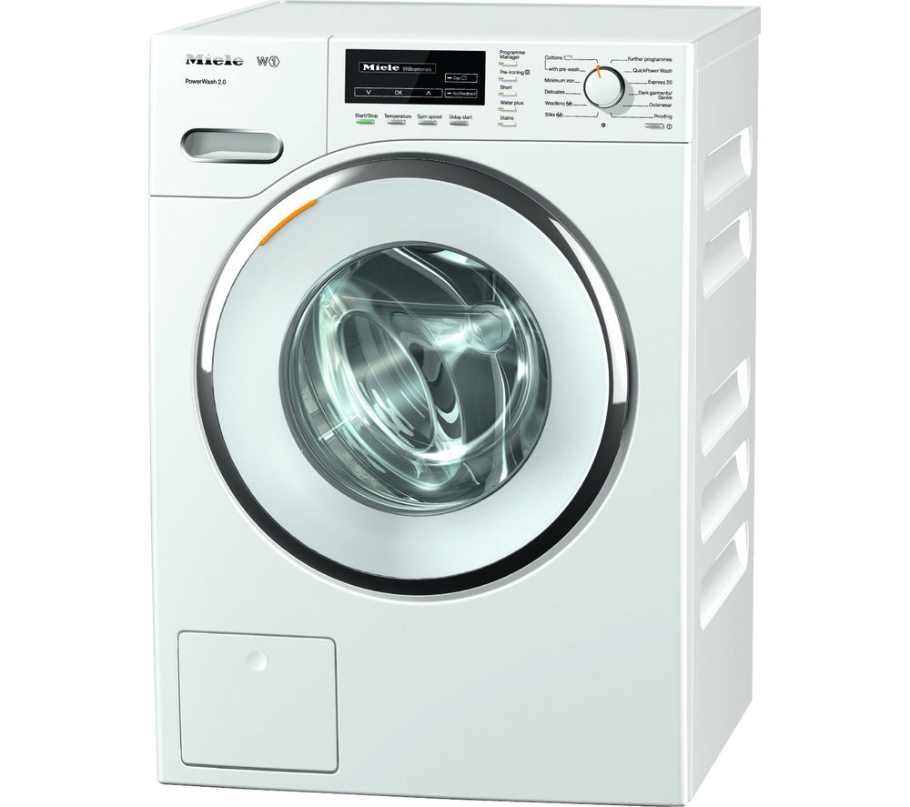 MIELE WMF121 Washing Machine - White