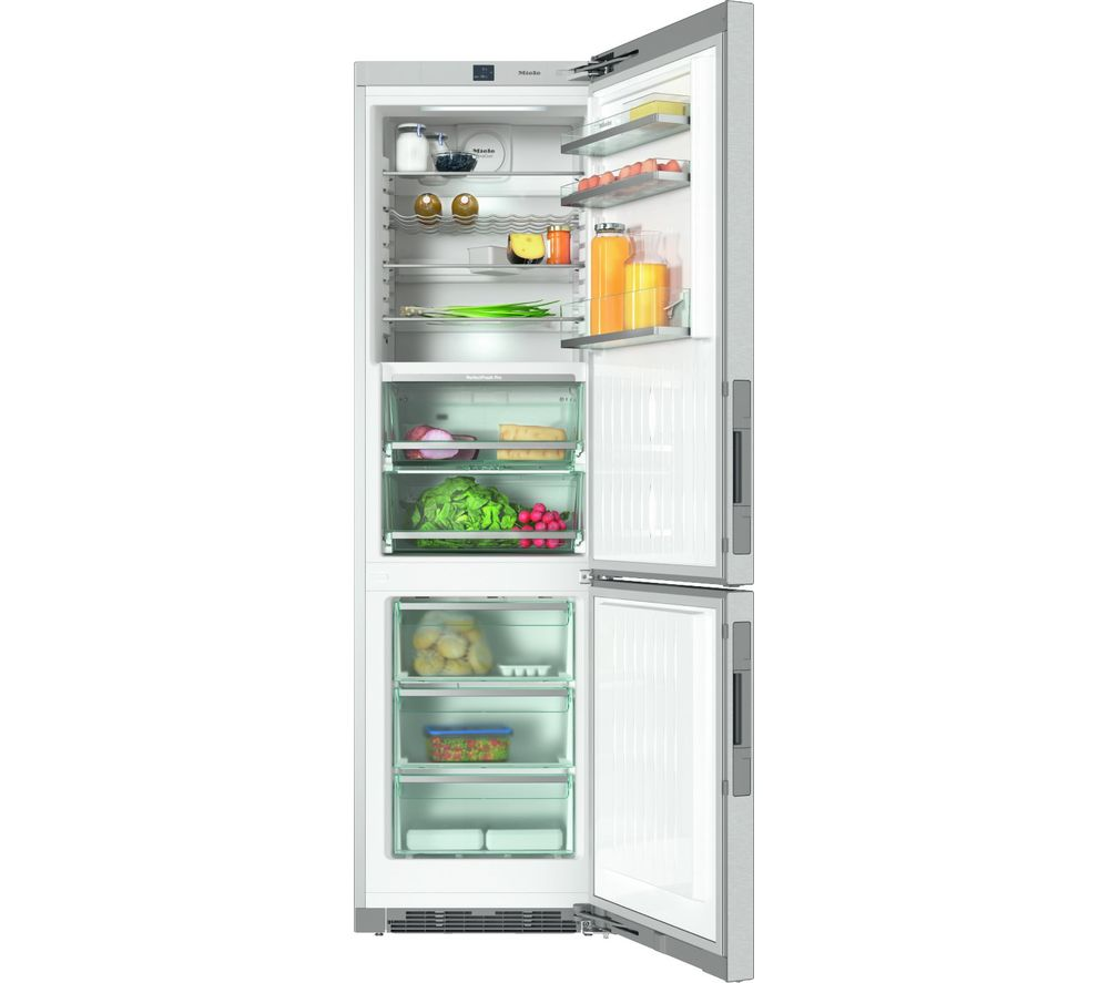 MIELE KFN 29483 D 70/30 Fridge Freezer - Stainless Steel