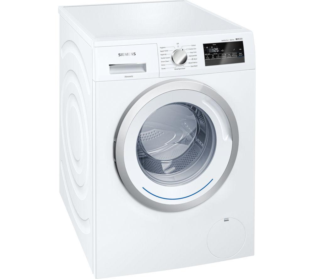 Image of SIEMENS iQ300 WM12N200GB Washing Machine - White, White