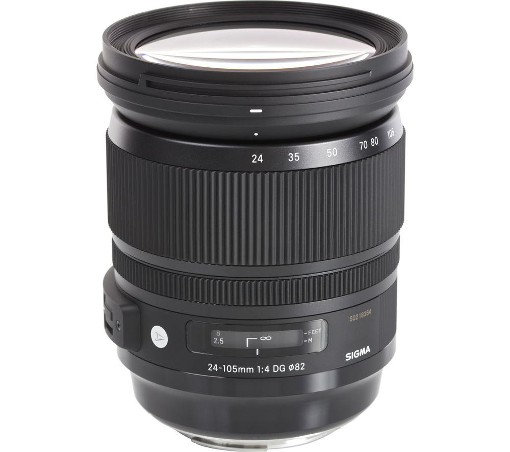 SIGMA 24-105 mm f/4.0 DG HSM Standard Zoom Lens - for Nikon