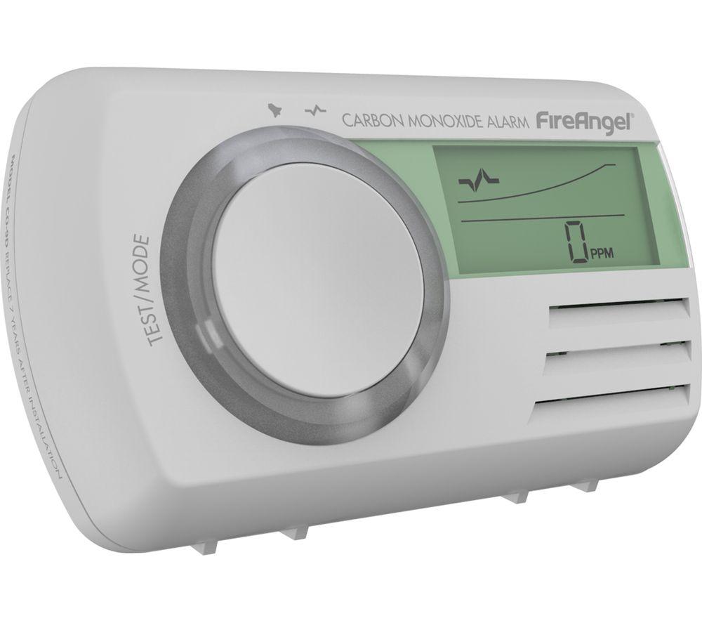 FIREANGEL CO-9D Digital Carbon Monoxide Alarm