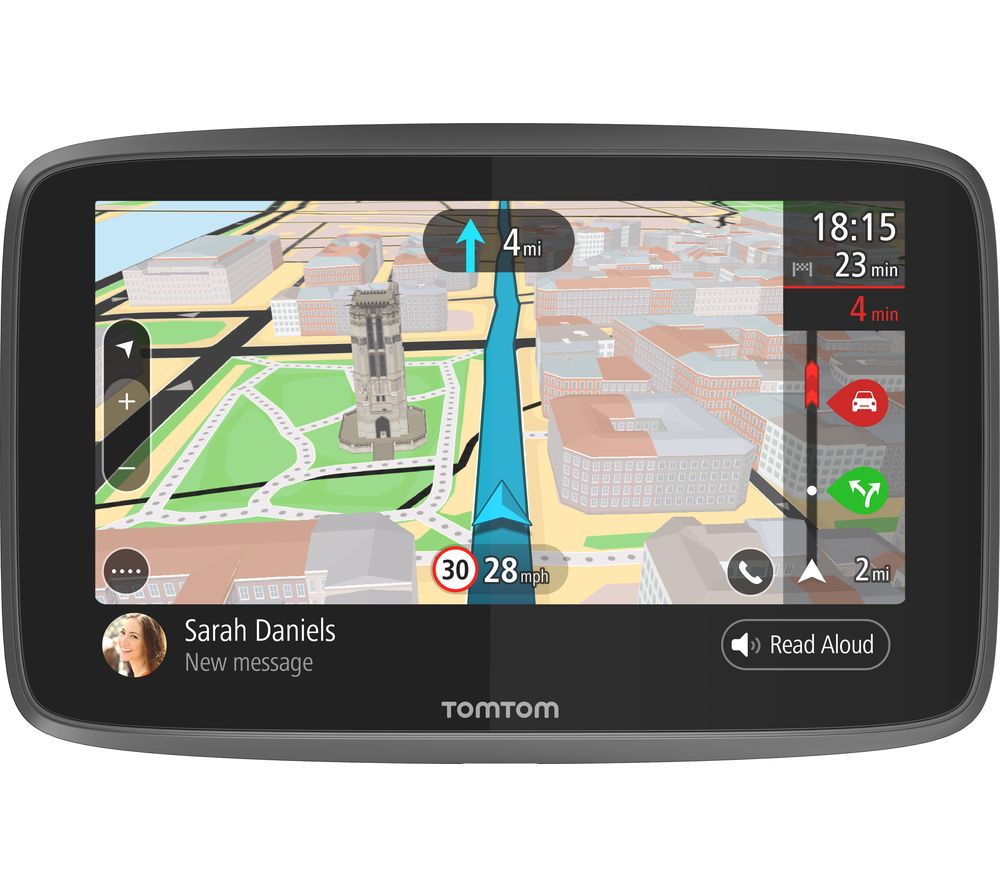 buy tomtom go 6200 6 sat nav with worldwide maps free delivery rh currys co uk