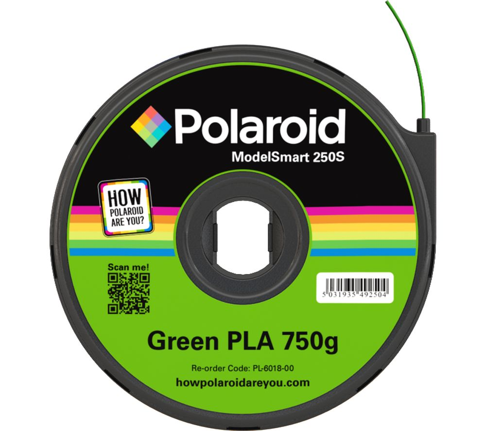 POLAROID PL-6018-00 Filament 3D Printer Cartridge - 750 g, Green