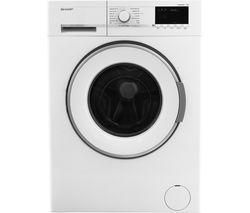 SHARP ES-GFB8144W3 Washing Machine - White