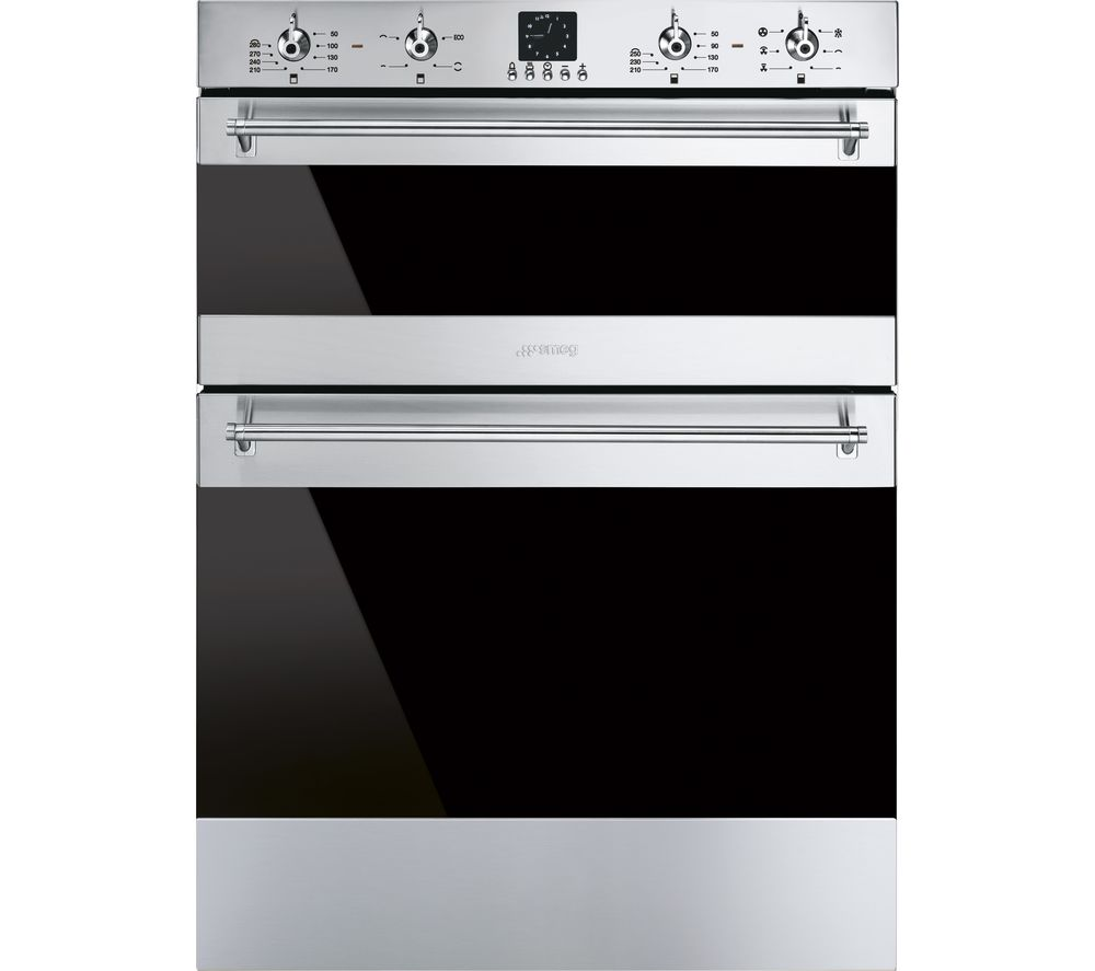 Compare prices for Smeg DUSF636X Electric Built-under Double Oven