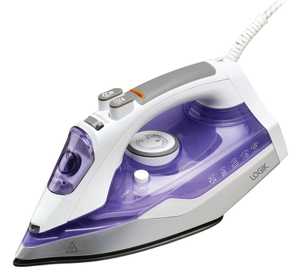 LOGIK L200IR17 Steam Iron - Purple