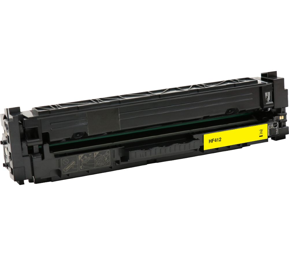 Compare retail prices of Essentials Remanufactured CF412A Yellow HP Toner Cartridge to get the best deal online