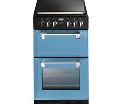 STOVES Richmond Mini Range 550DFW 55 cm Dual Fuel Cooker - Blue & Black