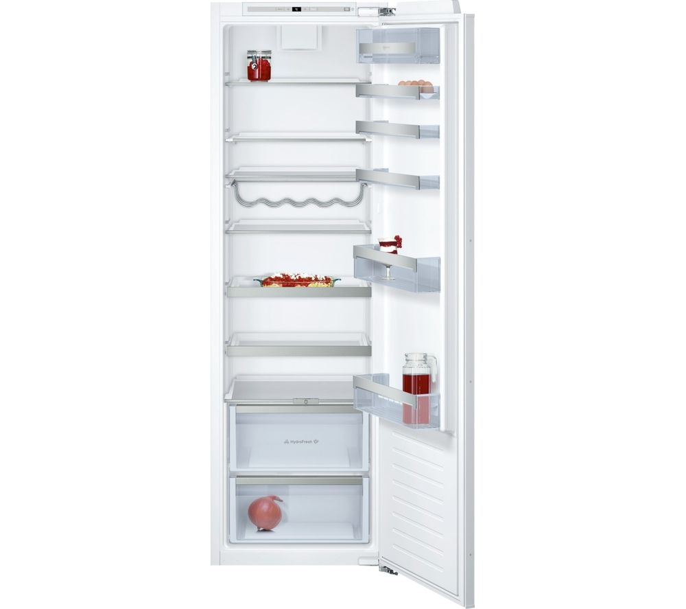 NEFF N70 KI1813F30G Integrated Tall Fridge