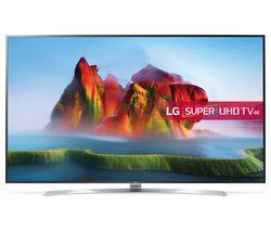 """LG 75SJ955V 75"""" Smart 4K Ultra HD HDR LED TV - Silver & Black"""
