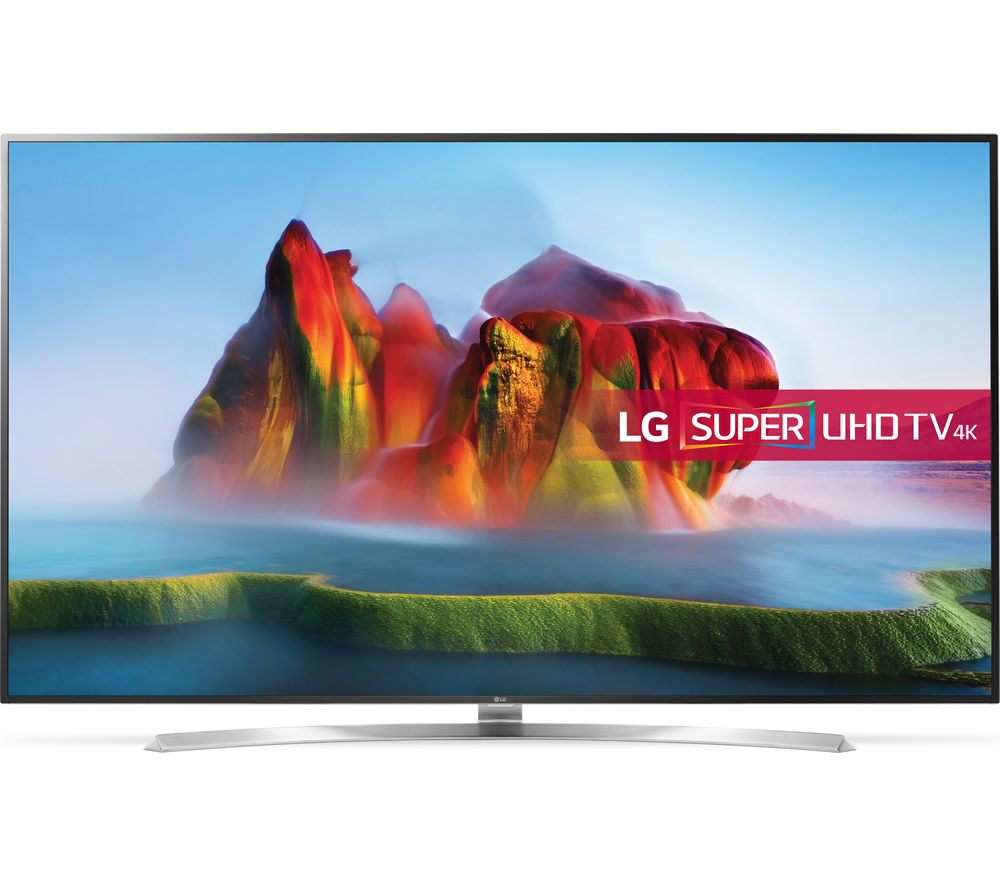 "LG 75SJ955V 75"" Smart 4K Ultra HD HDR LED TV - Silver & Black"