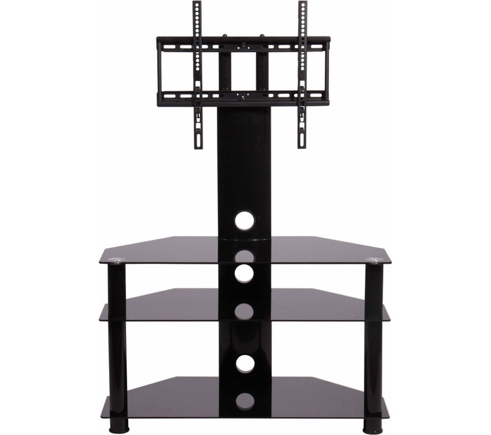 Compare prices for Mmt RIO CB32 TV Stand with Bracket Black Glass