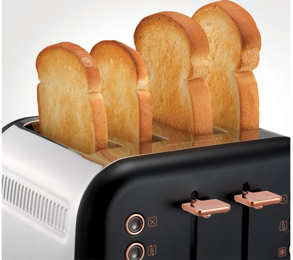 Buy Morphy Richards Accents 242104 4 Slice Toaster Black