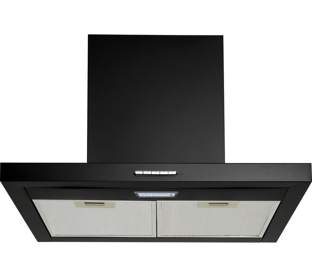 LOGIK L60CHDB17 Chimney Cooker Hood - Black
