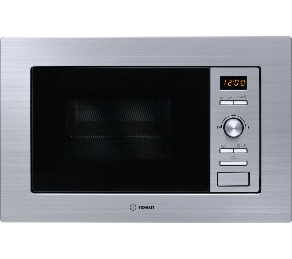 INDESIT MWI 122.2 X Built-in Microwave with Grill - Silver