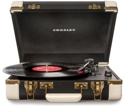 CROSLEY Executive CR6019DBLK Bluetooth Turntable - Black