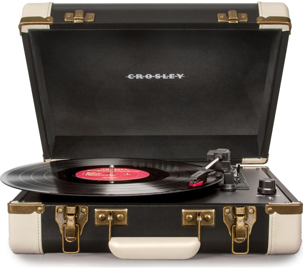 Compare retail prices of Crosley Executive CR6019DBLK Bluetooth Turntable to get the best deal online