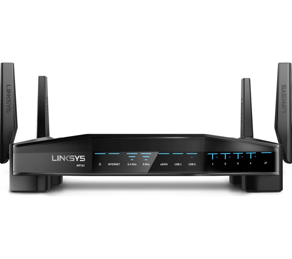 Compare retail prices of Linksys Wrt32x-Uk Wireless Cable And Fibre Router - Ac 3200 - Dual-Band to get the best deal online