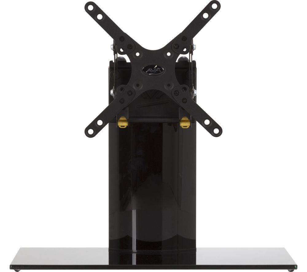 AVF B201BB 450 mm TV Stand with Bracket - Black, Black
