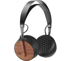 HOUSE OF MARLEY Buffalo Soldier Wireless Bluetooth Headphones - Black