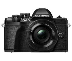 OLYMPUS OM-D E-M10 Mark III Mirrorless Camera with M.ZUIKO DIGITAL ED 14-42 mm f/3.5-5.6 EZ & ED 40-150 mm f/4-5.6 R Lens