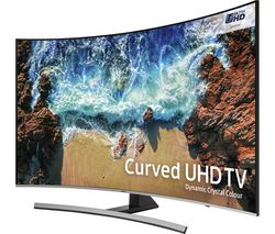 "SAMSUNG UE55NU8500 55"" Smart 4K Ultra HD HDR Curved LED TV"