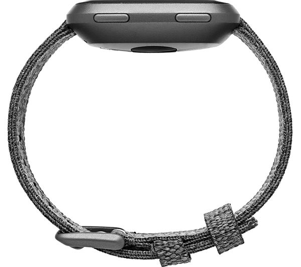 fitbit versa special edition charcoal review