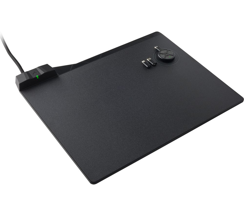 CORSAIR MM1000 Qi Wireless Charging Gaming Surface - Black