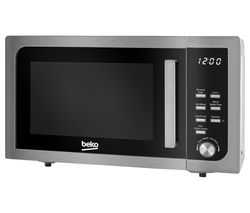BEKO MOF23110X Compact Solo Microwave - Stainless Steel Best Price, Cheapest Prices