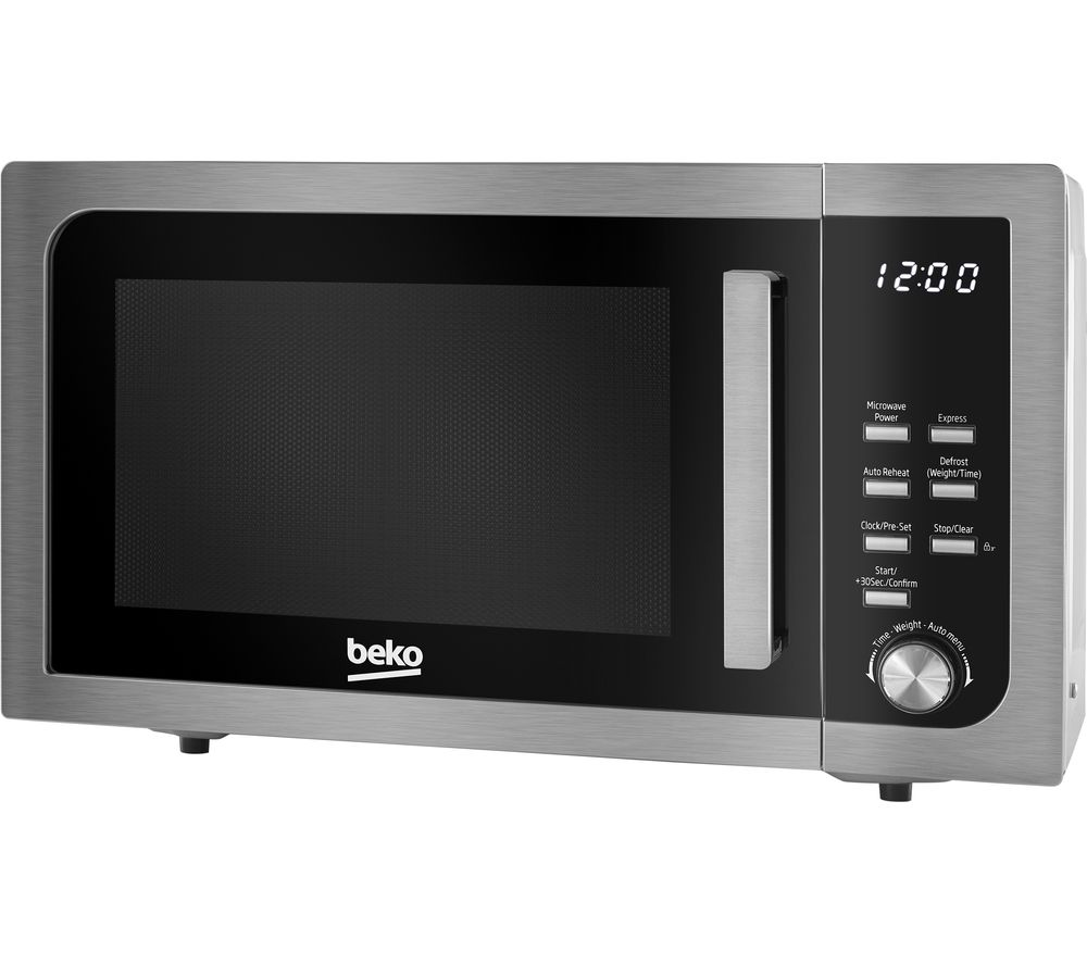 BEKO MOF23110X Compact Solo Microwave - Stainless Steel