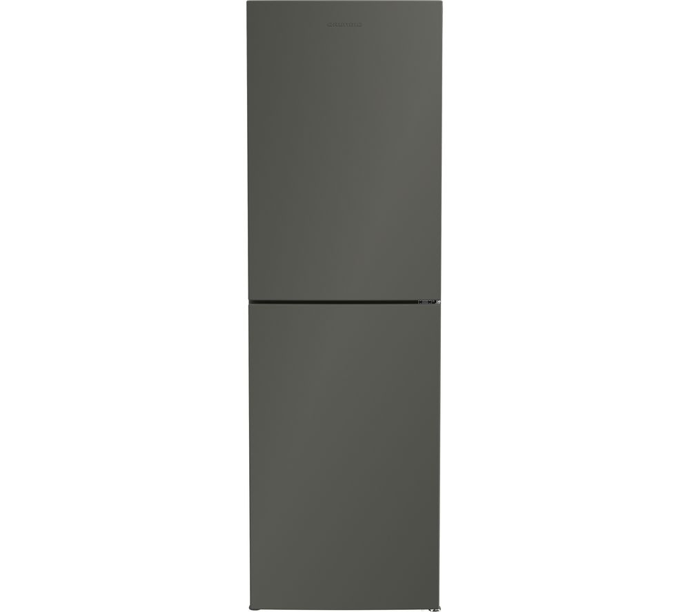 GRUNDIG GKNG1691G 50/50 Fridge Freezer - Graphite