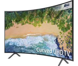 "SAMSUNG UE55NU7300 55"" Smart 4K Ultra HD HDR Curved LED TV"