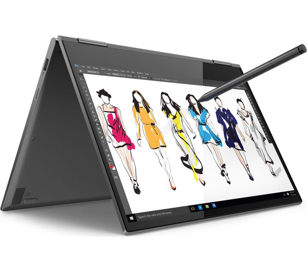 "LENOVO YOGA 730 15.6"" Intel® Core™ i7 2 in 1 - 256 GB SSD, Grey"