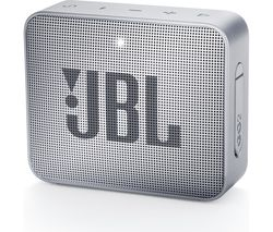 JBL GO2 Portable Bluetooth Speaker - Silver